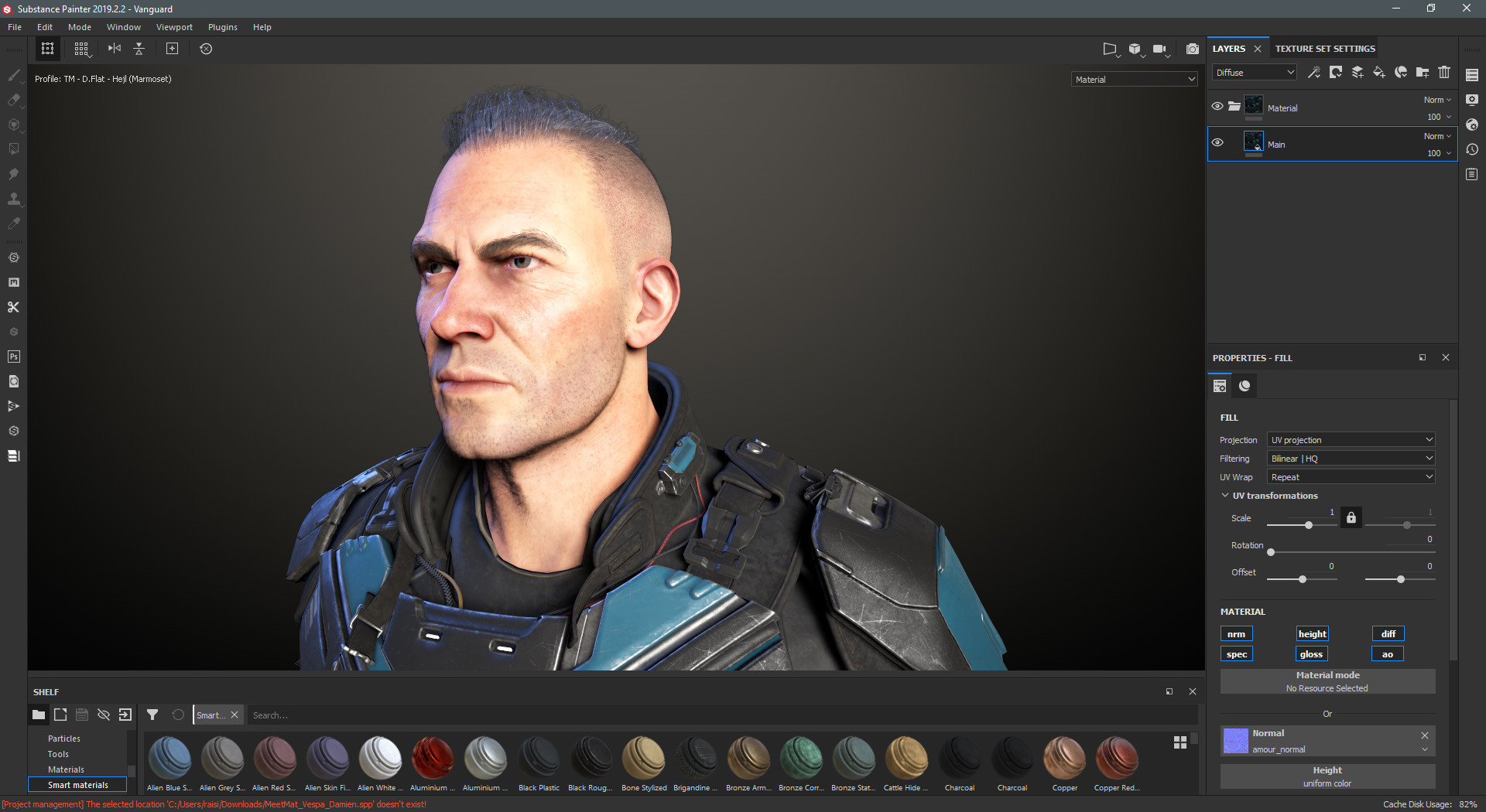 Substance Painter2020截图1