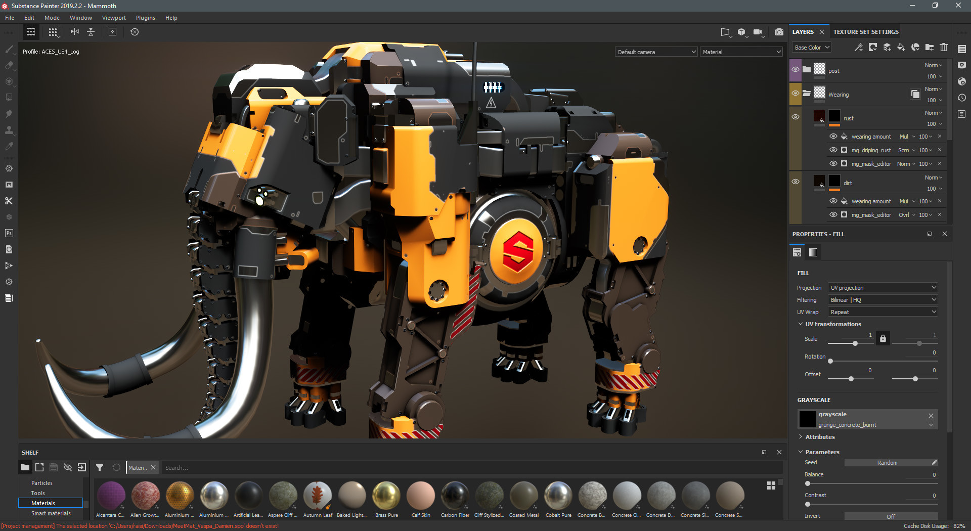 Substance Painter2020截图2
