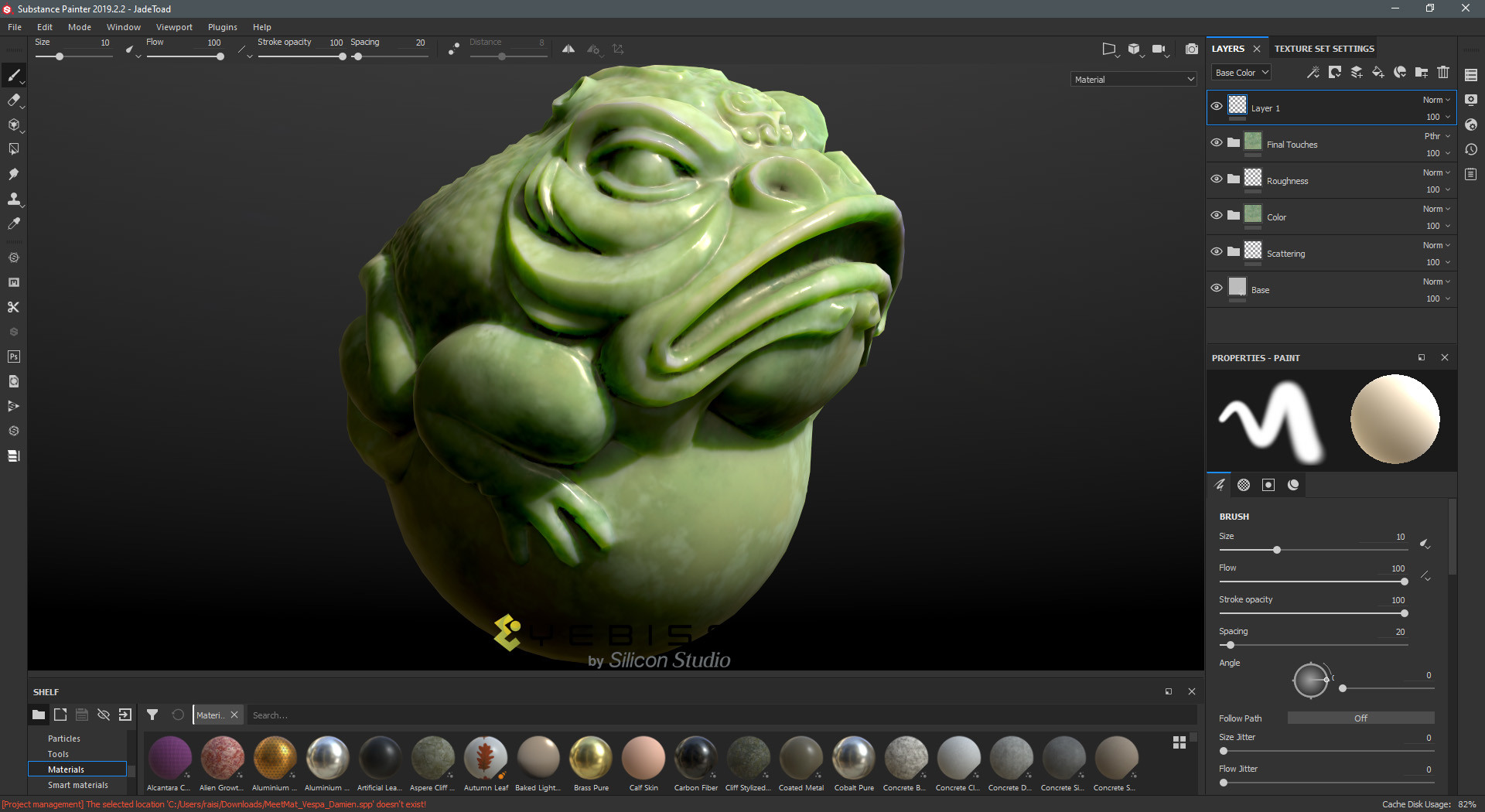 Substance Painter2020截图4