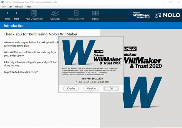 Quicken WillMaker Trust下载截图2